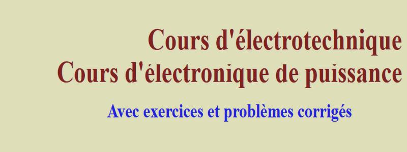 Catégorie: Cours électronique