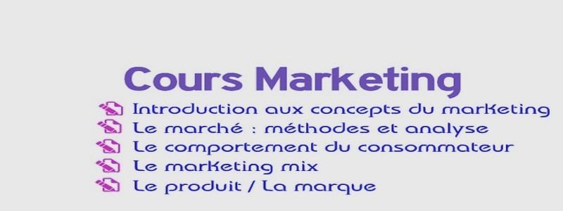 Catégorie: Cours marketing