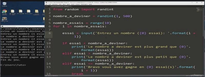 Catégorie: Cours Python